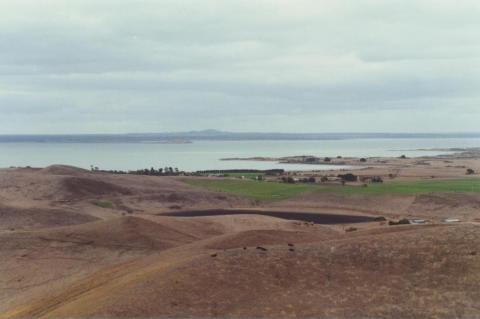 Lake Corangamite from Red Rock, Alvie, 2001