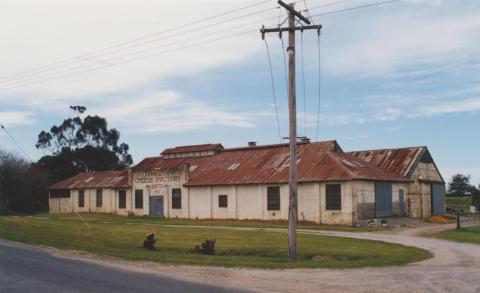 Cora Lynn cheese factory, 2002