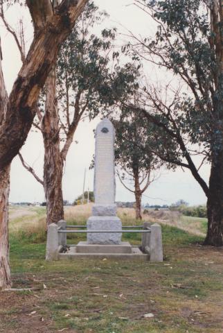 Cora Lynn memorial, 2002