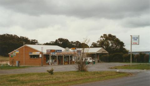 Ross Creek general store, 2002