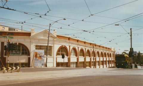 Former Hawthorn tram depot, Power Street, 2002