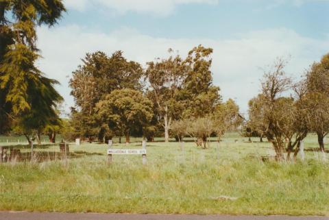 Wallacedale, former school site, 2002