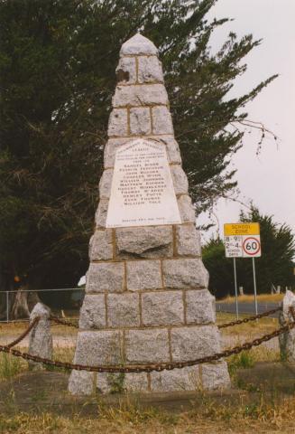 Drummond Patriotic League memorial, 2004
