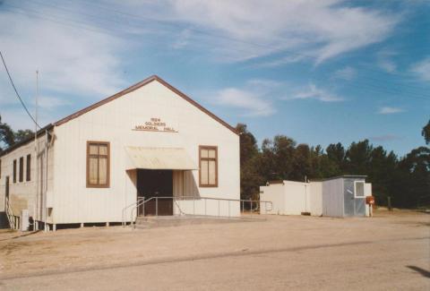 Cowangie memorial hall, 2007