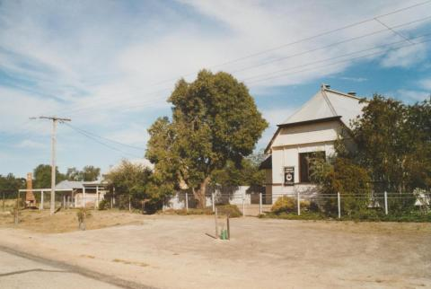 Bakers oven, bushnursing cottage and Uniting Church, Cowangie, 2007