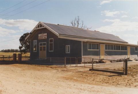 Lorquon memorial hall, 2007