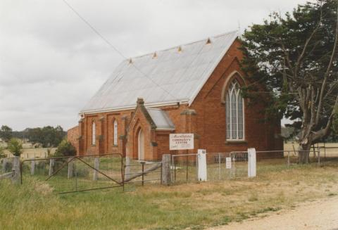 Muckleford community hall, 2007