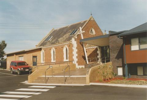 Dingley, hall and modern extension, Church of England, 2008