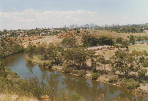 View from Lily Street, Avondale Heights, 2008