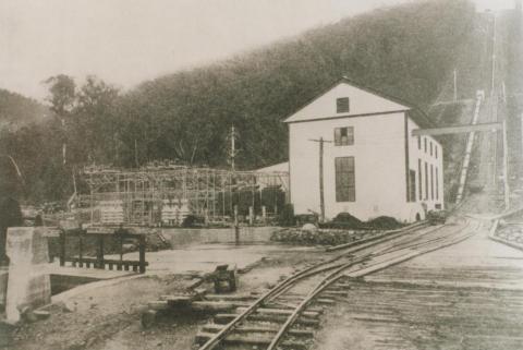 Rubicon power house, 1928