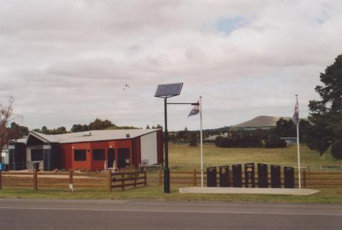 Community Centre and War Memorial, Beveridge, 2011
