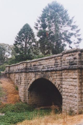 William Street Bridge c1857, Yackandandah, 2010