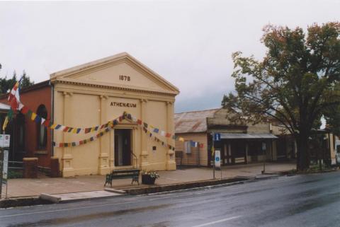 Athenaeum c1878, Yackandandah, 2010