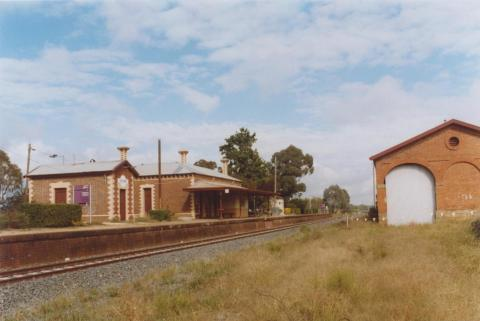 Railway Station and Goods Shed, Chiltern, 2010