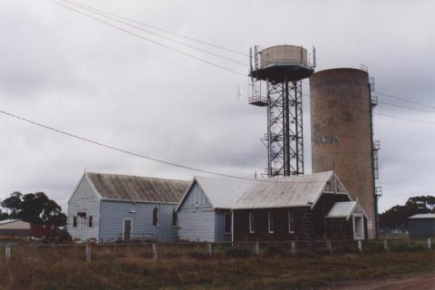 Uniting Church and Water Towers, Little River, 2011