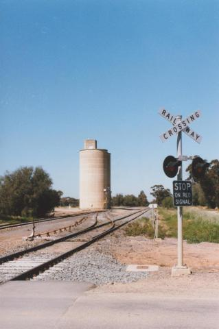 Railway Crossing and Silo, Katunga, 2011