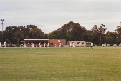 Recreation Reserve, Heatherton, 2011