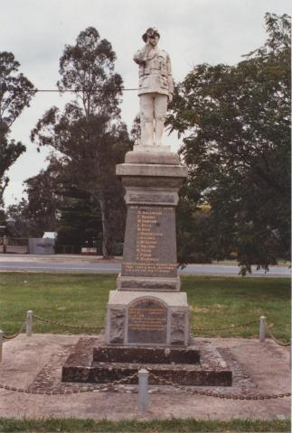 War Memorial, Swanpool, 2012