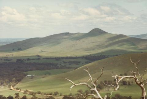 View from lookout, Ararat, 1980