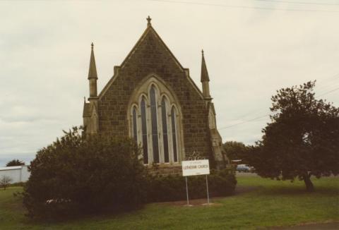 Koroit Lutheran Church, 1980