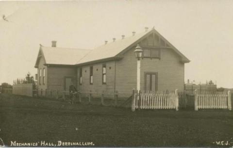 Mechanics' Hall, Derrinallum