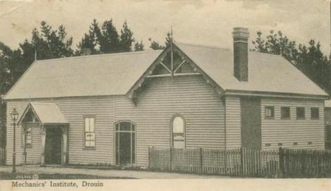 Mechanics' Institute, Drouin, 1907