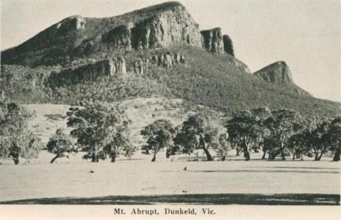 Mt Abrupt, Dunkeld, 1952