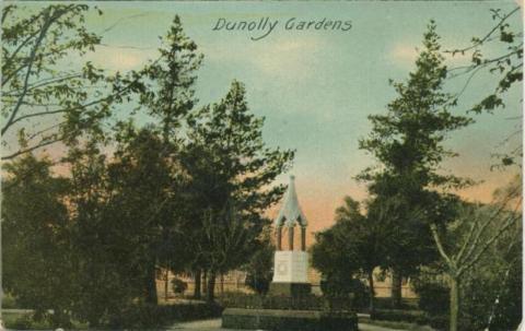Queen Victoria Jubilee Memorial, Dunolly Gardens, 1907