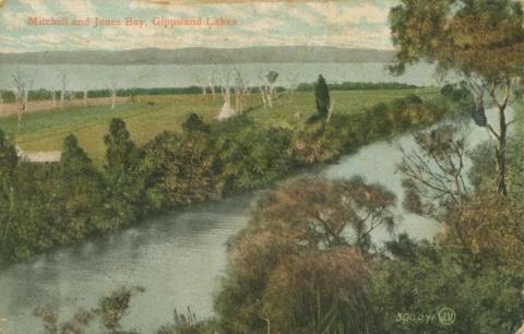 Mitchell and Jones Bay, Gippsland Lakes