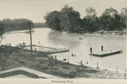 Swimming Pool, Echuca, 1955