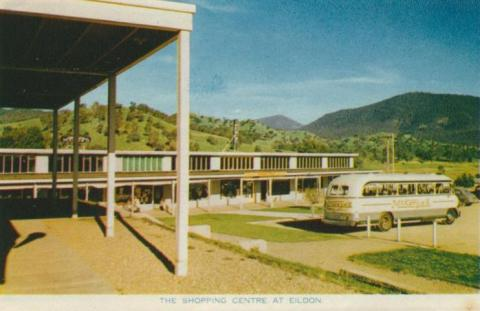 The shopping centre at Eildon