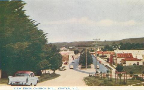 View from Church Hill, Foster