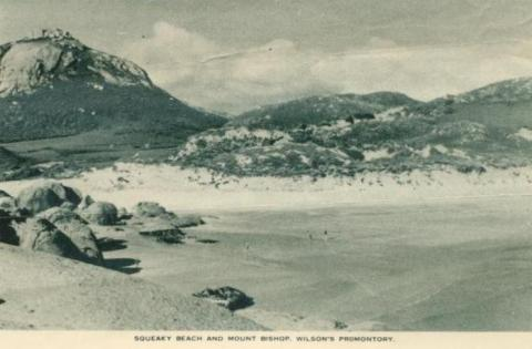 Squeaky Beach and Mount Bishop, Wilson's Promontory