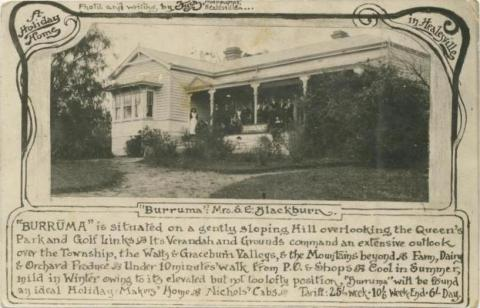 Burruma, a holiday home in Healesville