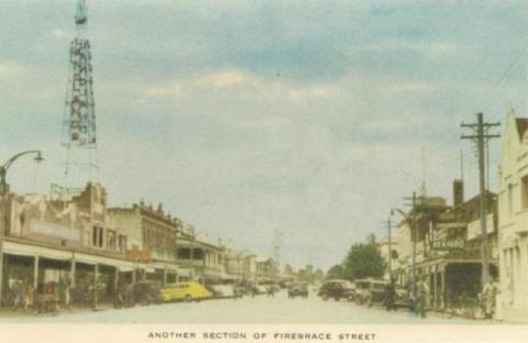 Another section of Firebrace Street, Horsham, 1951