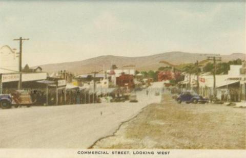 Commercial Street looking west, Korumburra