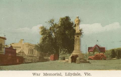 War Memorial, Lilydale, 1964