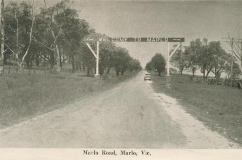Marlo Road, Marlo, 1963