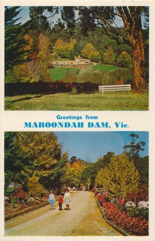 Maroondah Dam, Healesville