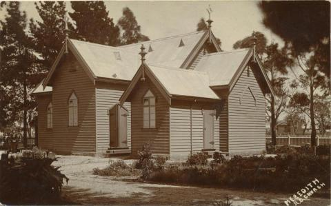 Roman Catholic Church, Meredith, 1910