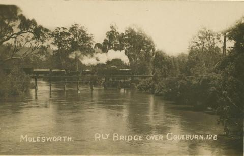 Railway Bridge over Goulburn River, Molesworth