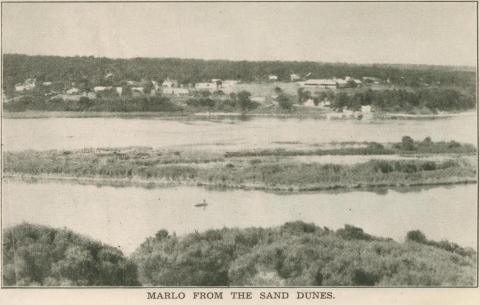 Marlo from the Sand Dunes, 1947