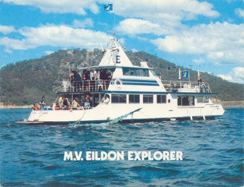 Lake Eildon Adventures, MV Eildon Explorer