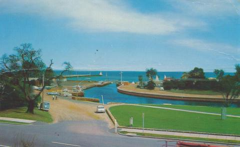 The Entrance to Kananook Creek, Frankston, 1970