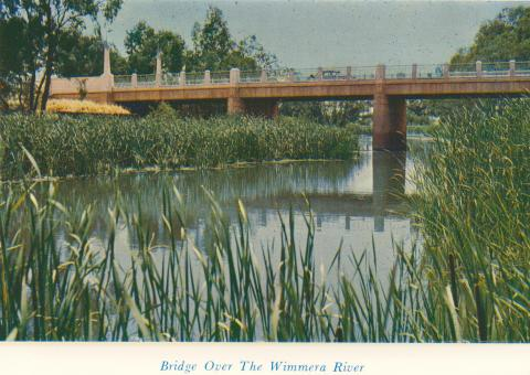 Bridge Over The Wimmera River, 1965