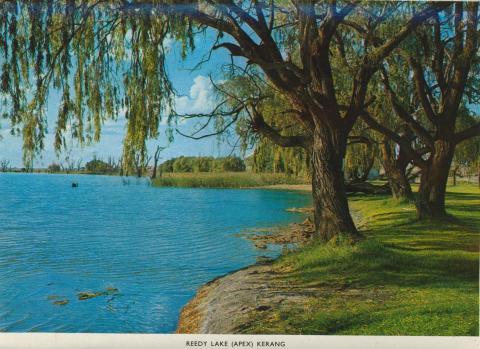 Reedy Lake (Apex), Kerang, 1975