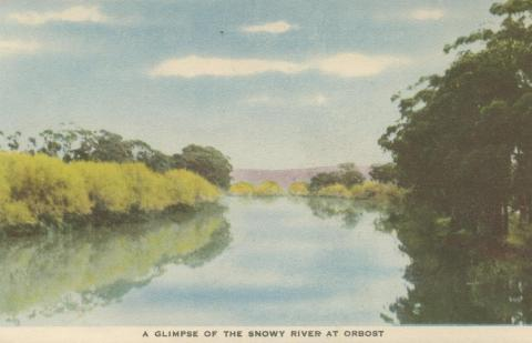 A Glimpse of the Snowy River at Orbost, 1948