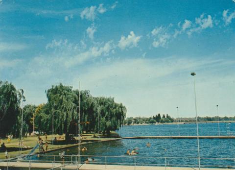 The Swimming Pool on Lake Mulwala, Yarrawonga