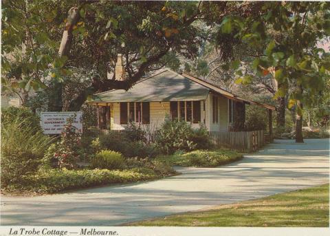 La Trobe Cottage, First Government House, Melbourne