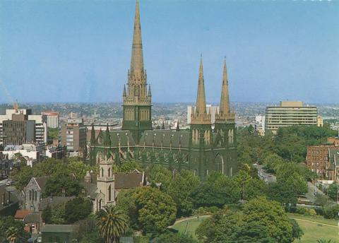 St Patricks Cathedral (building completed in 1897), 1978